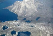 Habitantes en Groenlandia, preocupados por el cambio climático