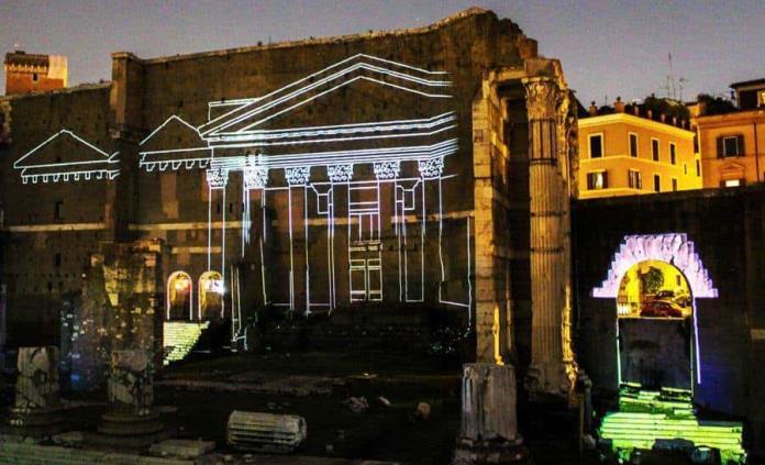 Una noche en el museo para huir del calor en Roma