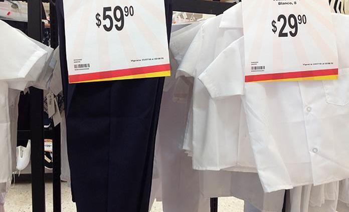 ¿Dónde comprar más barato los uniformes escolares?