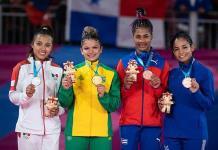 Judoca Luz Olvera obtiene la presea de plata en 52 Kgs.