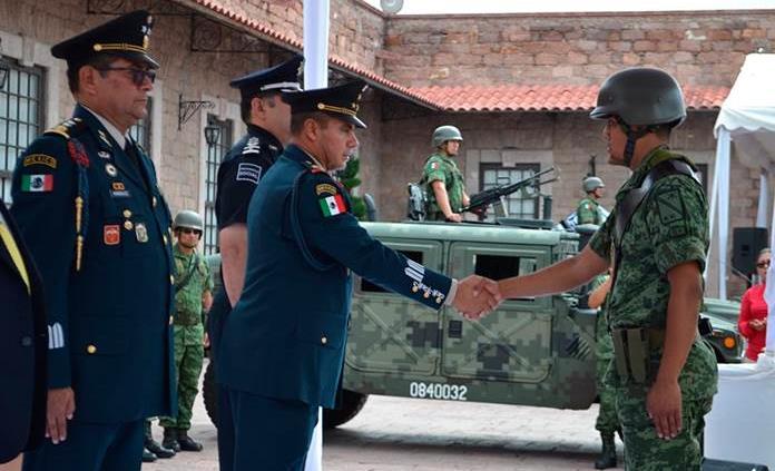 Rolando Solano Rivera, nuevo comandante del 40 Batallón de Infantería