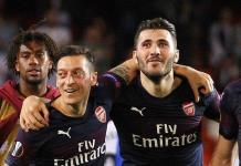 Por seguridad, Arsenal descarta a Ozil y Kolasinac para el inicio de la Premier
