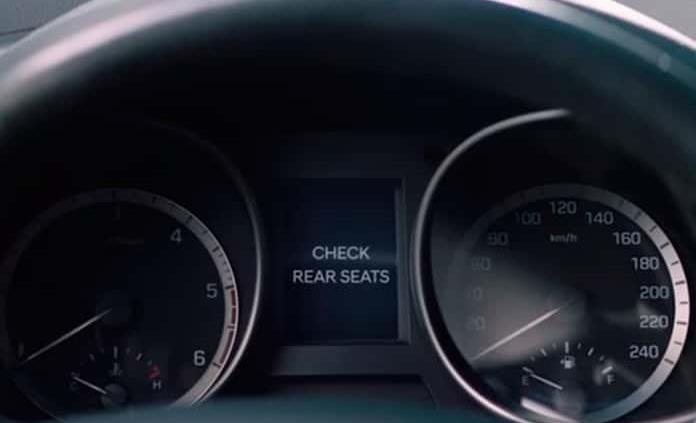 Hyundai estandariza alerta de ocupantes en asientos traseros (VIDEO)