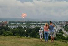 Aconsejan desalojo en aldea rusa tras explosión de cohete