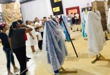 Inauguran museo temporal de la virgen de Cedral