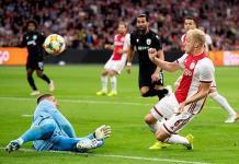 Ajax avanzó de ronda en la UEFA Champions League