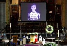 Realizan funeral de ciclista belga que murió en accidente en el Tour de Polonia