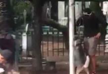 Detienen e indagan a entrenador por maltratar a perro en la Cuauhtémoc