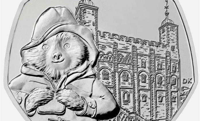 Entran en circulación monedas de 50 peniques con el oso Paddington