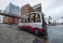 Prueba Hamburgo minibuses eléctricos sin conductor