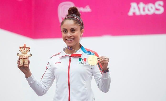 Paola Longoria y Kevin Berlín, en la lista de atletas sobresalientes en Lima 2019