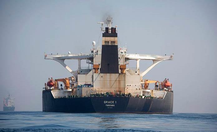Gibraltar libera petrolero iraní pese a intento de EEUU de retenerlo
