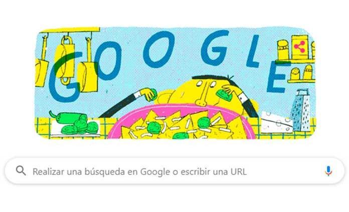 """Google celebra al creador de los """"nachos"""" a 124 años de su nacimiento"""