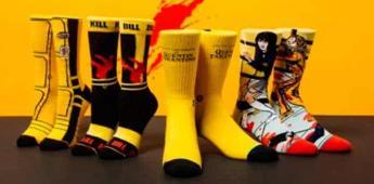 Lanzan calcetines inspirados en las películas de Tarantino