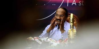 Nave espacial india alcanza con éxito órbita lunar