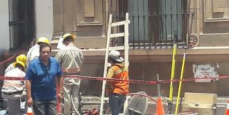 Reparación de la CFE produce apagón en el centro histórico