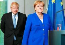Merkel aclara que no dio 30 días de plazo a Johnson para solucionar el Brexit