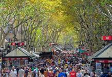 Aumentan los robos violentos a turistas en Barcelona