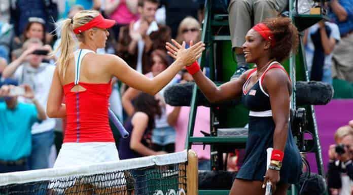 Serena frente a Sharapova en el US Open'>