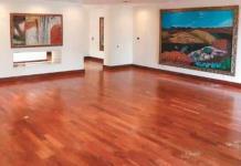 Las 33 pinturas ya cuelgan en muros de Los Pinos