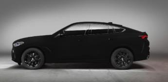 """X6: la presentación """"más negra"""" de BMW"""