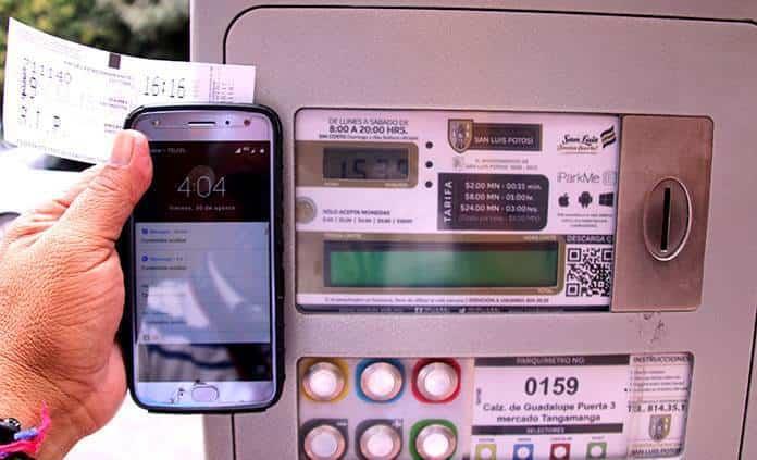 Multarán a ciudadanos que usen app de parquímetros iParkMe