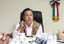 Gobernador de Veracruz asegura que crimen financia campañas
