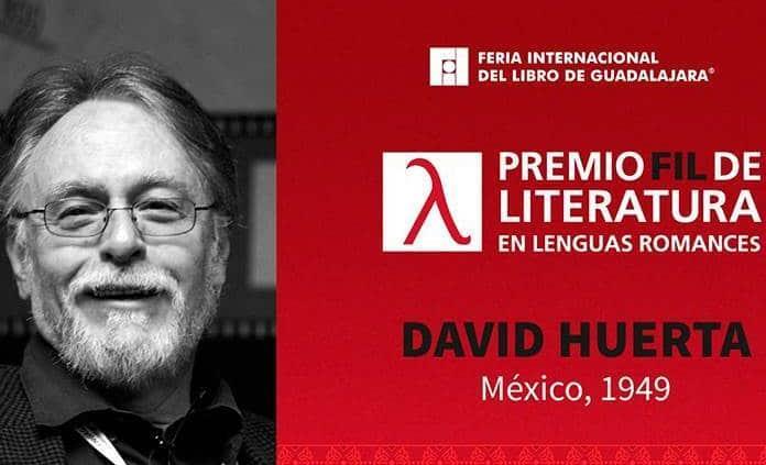 El poeta David Huerta gana el Premio FIL de Literatura 2019