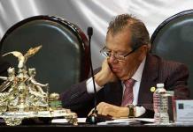 Morena se sale de mi corazón, confiesa Muñoz Ledo