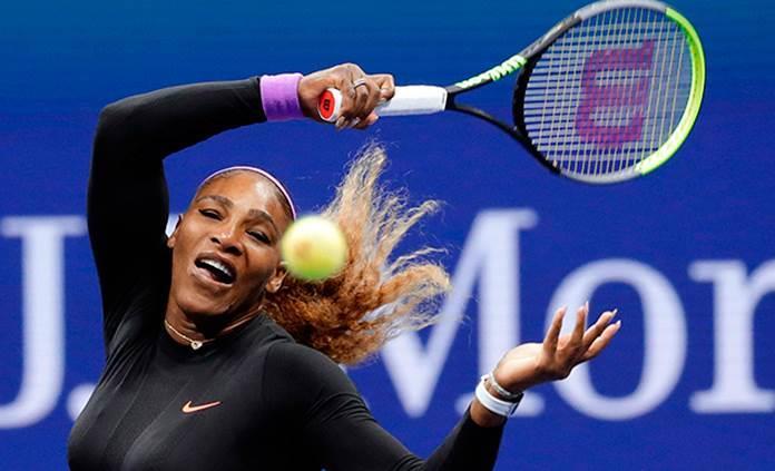 Serena arrolla con su potencia