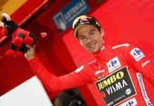 Gilbert gana etapa 12 de la Vuelta; Roglic aún es líder