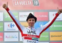 Los eslovenos Pogacar y Roglic dominan extenuante etapa de la Vuelta a España