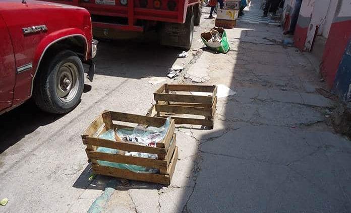 Coordinan con tiendas recolección de basura