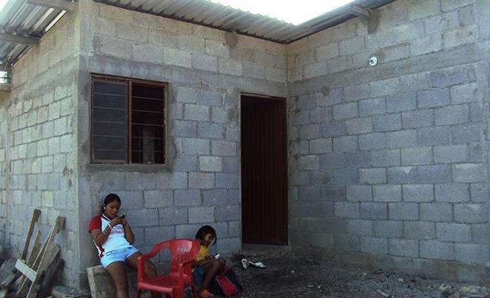 Vivienda digna piden para familias marginadas