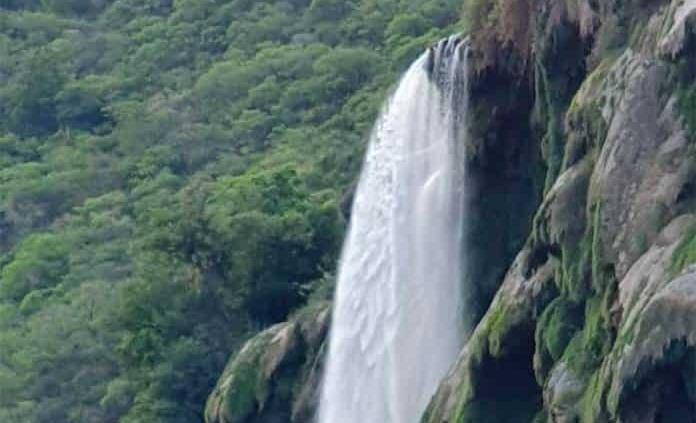 Reaparece la cascada de Tamúl en Aquismón