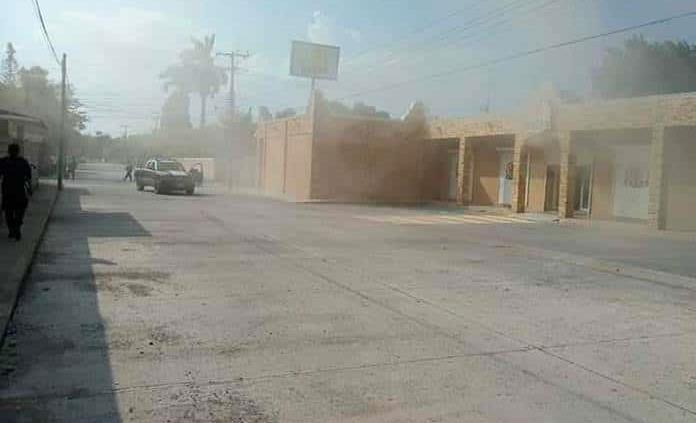 Rafaguean y queman tienda abarrotera en Tanquián