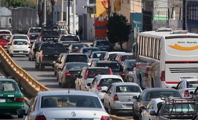 Congestionamiento vial cuesta a San Luis 1,100 mdp al año