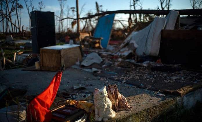 Bahamas reduce a 1,300 los desaparecidos por el huracán Dorian
