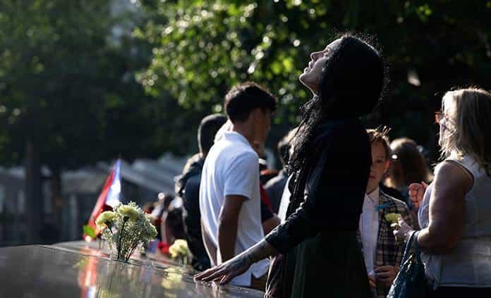 Conmemoran decimoctavo aniversario del 11 de septiembre