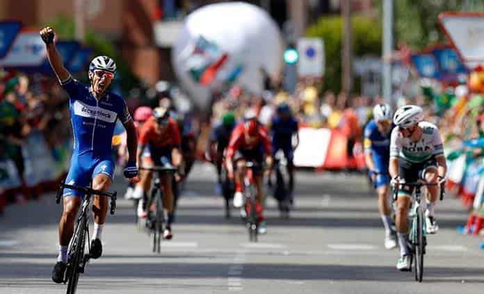 Gilbert gana otra etapa de la Vuelta a España y Quintana se acerca al líder
