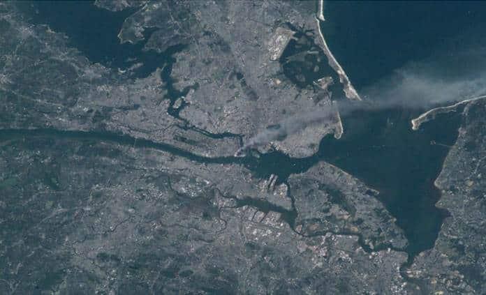 Con fotos, la NASA recuerda la tragedia del 11-S en Nueva York