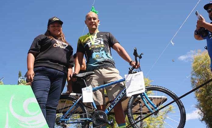 Guerrero, 8º en carrera ciclista de Villa Hidalgo