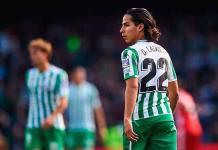 Diego Lainez ya no entra en planes del Betis
