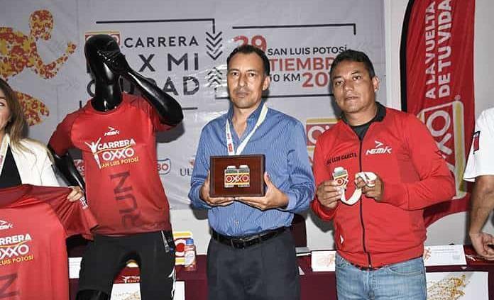 Presentan la lid atlética Oxxo Kms. por Mi Ciudad