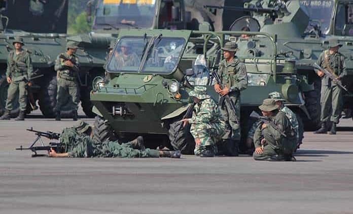 Venezuela inicia ejercicio militar