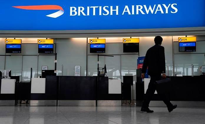 British Airways cancela vuelos ante la huelga del 27 de septiembre