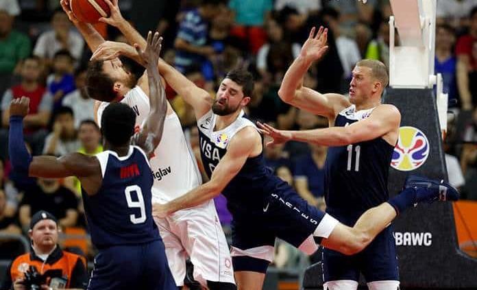 EEUU cae ante Serbia en el Mundial, su peor puesto final
