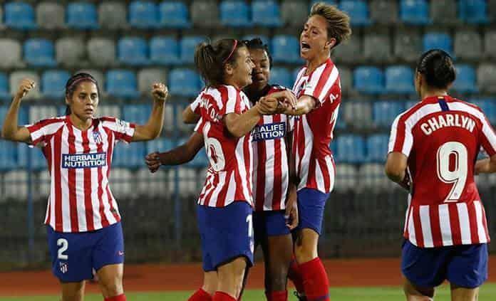 Atlético de Madrid con Robles y Corral inicia Champions con triunfo