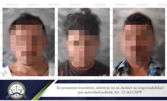 Caen tres por homicidio ocurrido en Villa de Zaragoza
