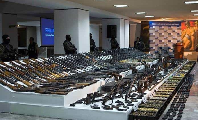 Imparable el tráfico de armas desde EU